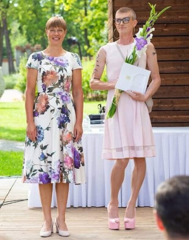 Два фото из жизни Эстонии
