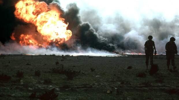 Крупнейшее нефтяное месторождение полыхает в Кувейте