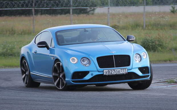Bentley Continental GT V8 S: бодибилдер в отпуске