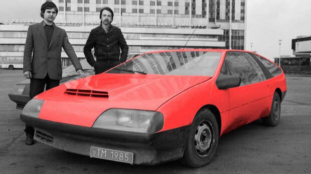 Эти советские дизайнеры собирали суперкары у себя в гараже