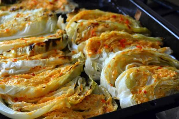 Молодая капуста запечённая в духовке. Аппетитное и полезное блюдо с пикантным соусом 2