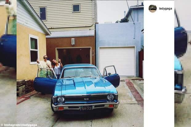 Коллекция машин Леди Гаги далеко не мелкая