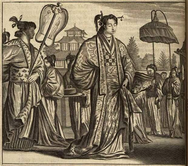 Япония глазами европейцев на гравюрах - 1670 год (13)