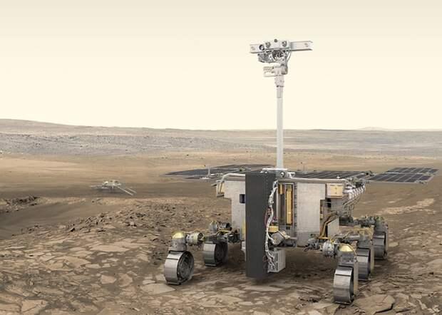 Робот ExoMars. Фото: ru.wikipedia.org