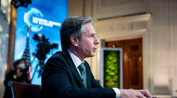 Блинкен обратился к России после визита в Киев