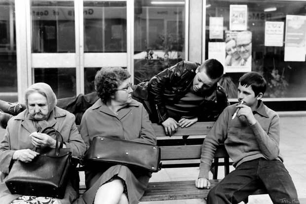 Социальный ландшафт Северной Англии 70-80х