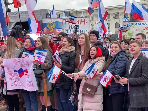 Крымская весна: как полуостров отмечает 7 лет в России 18 марта 2021, трансляция