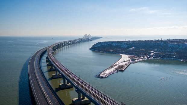 За всё время по Крымскому мосту проехало более 4,5 млн автомобилей