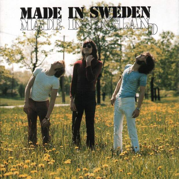 Made In Sweden. Made In England 1970
