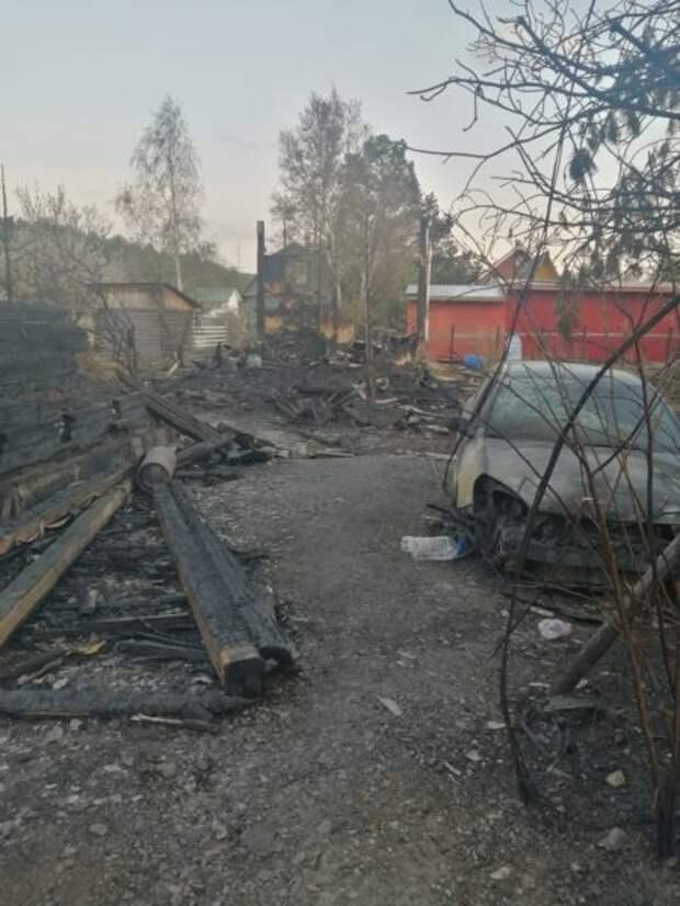 Сады под Екатеринбургом могли поджечь дети