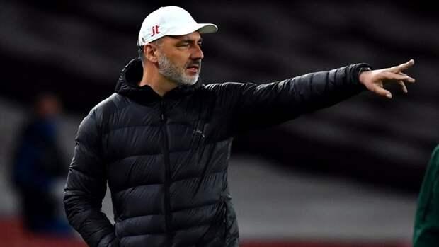 Главный тренер «Славии» считает заслуженным выход «Арсенала» вполуфинал Лиги Европы