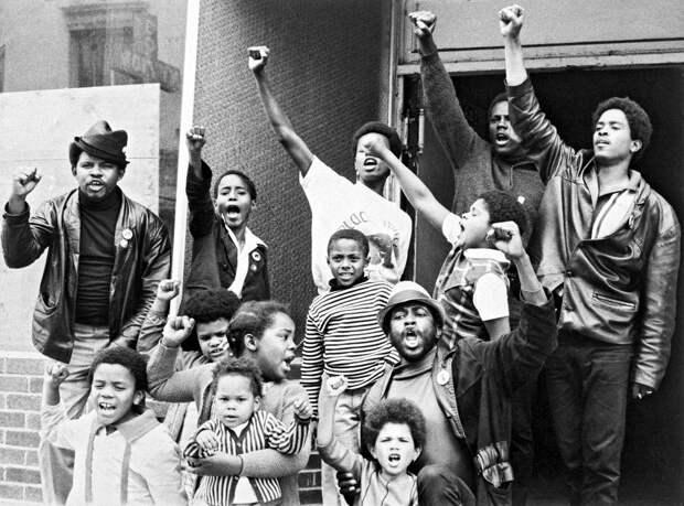 Социальные конфронтации в США 1960-х - 1970-х годов: Леворадикальная Партия черных пантер   (4)
