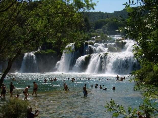 Живописный национальный парк Крка, Хорватия (12 фото)
