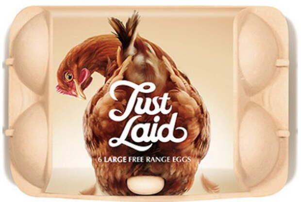 Дизайнерская упаковка наглядно показала свежесть куриных яиц