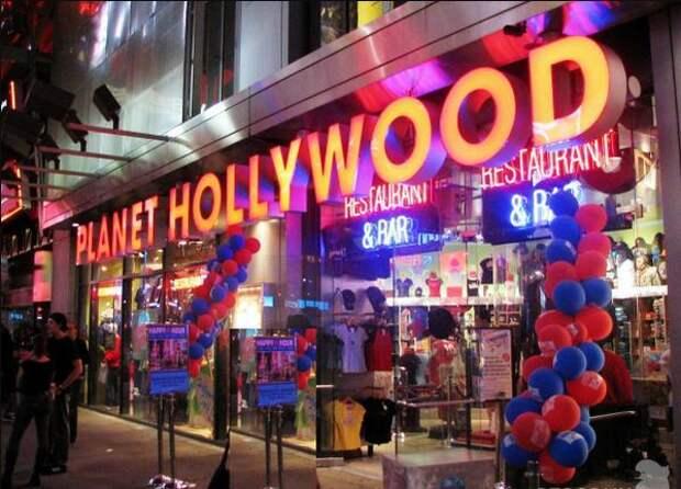 Ресторан Планета Голливуд в Нью-Йорке