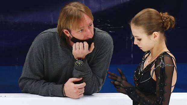 Плющенко — Трусовой: «Уверен, твоя мечта сделать 5 четверных в произвольной программе обязательно исполнится!»