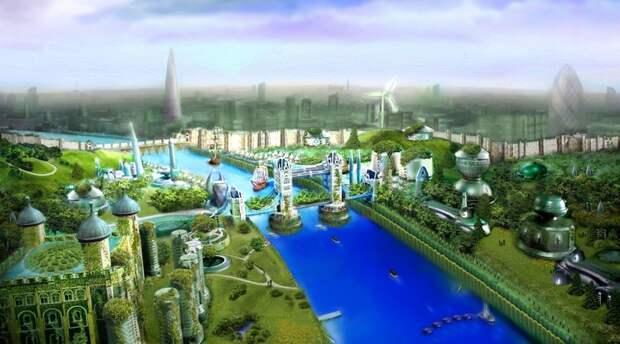 Утопические города будущего: какой может стать жизнь на Земле через сто лет
