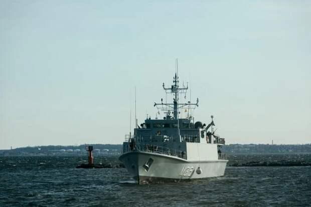 ВЭстонию прибыла эскадра НАТО для проведения противоминной операции