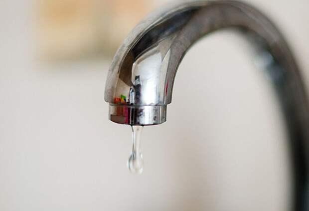 Сегодня ночью без воды останется десяток улиц в центре города