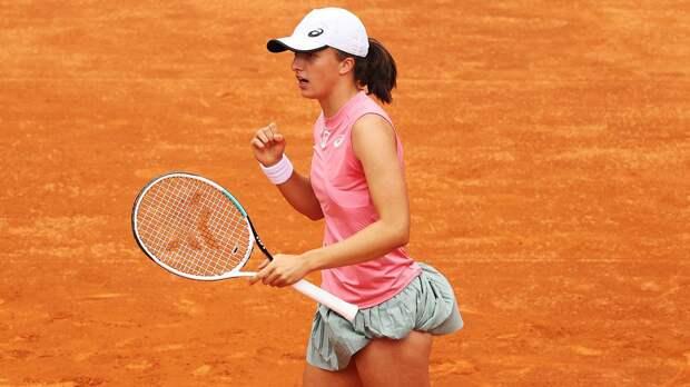 Швентек выиграла турнир в Риме, не отдав в финале Каролине Плишковой ни гейма