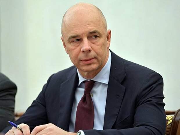 Силуанов: Дефицит бюджета РФ ожидается на уровне 2,4% ВВП