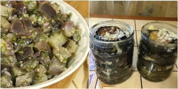 Консервированные баклажаны, по вкусу как шашлык: вкусный рецепт