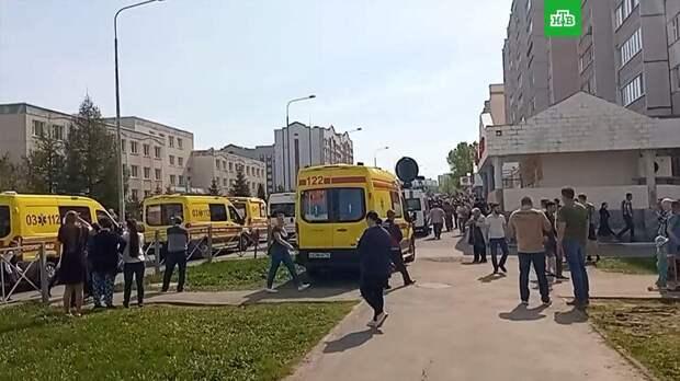 Стрельба в казанской школе: число пострадавших выросло до 23