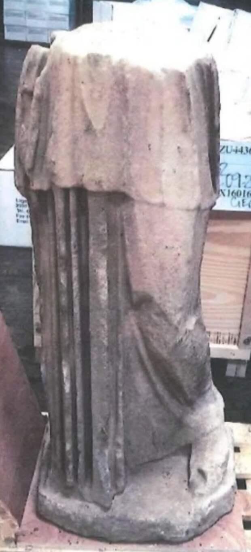 Украденная статуя