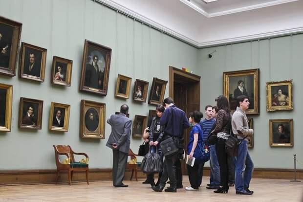 Похищенную картину Куинджи вернули в Третьяковскую галерею