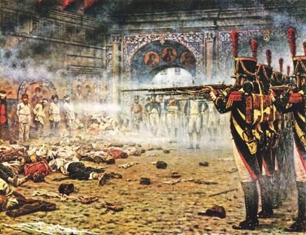 Владимир Казаков: Зверства французов против мирного населения России в 1812 году