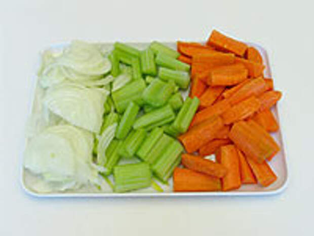 Режем овощи