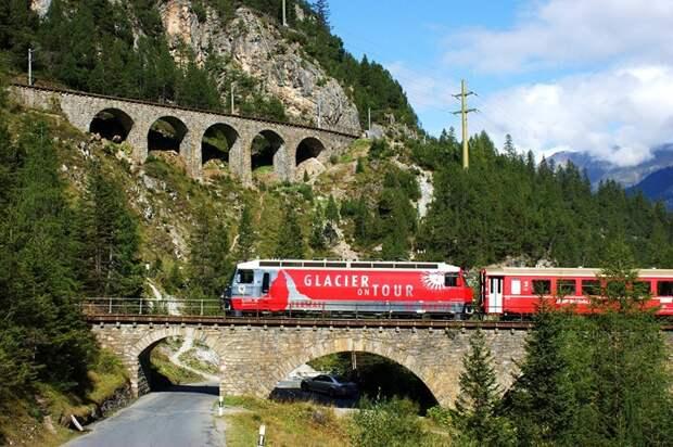 Chbahns59 Топ 5 самых необычных железных дорог Швейцарии