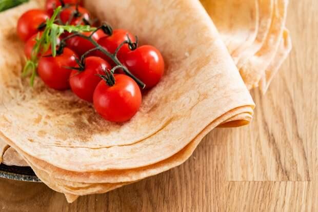 лаваш с помидорами фото