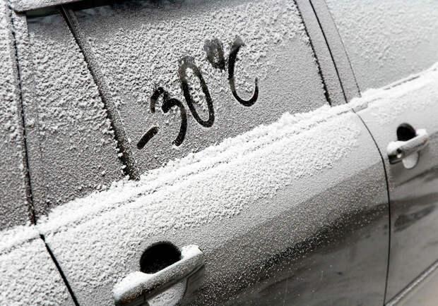 Будни современной женщины или сколько нужно мужчин, чтобы завести машину в мороз?