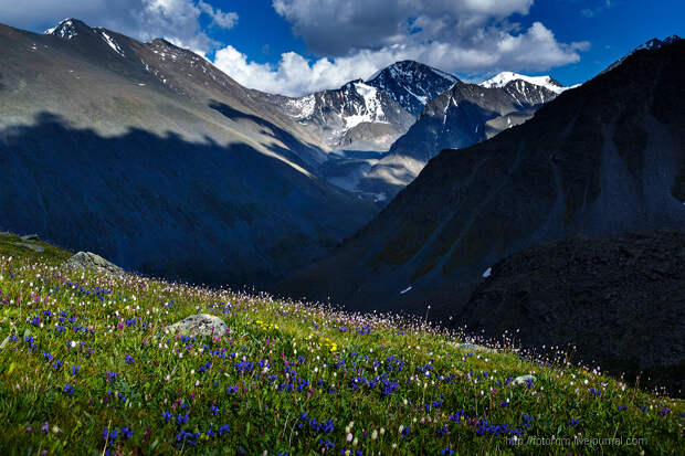 Altay. Valley of Seven Lakes