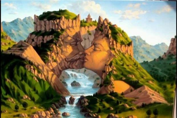 Картины-иллюзии Артуша Восканяна