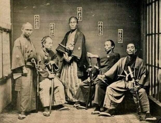 Японские самураи - потомки воинственных чукчей?