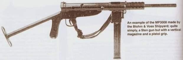 Автоматическое оружие для фольксштурма. Sten для бедных