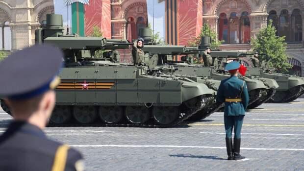 На Красной площади стартовал торжественный парад Победы