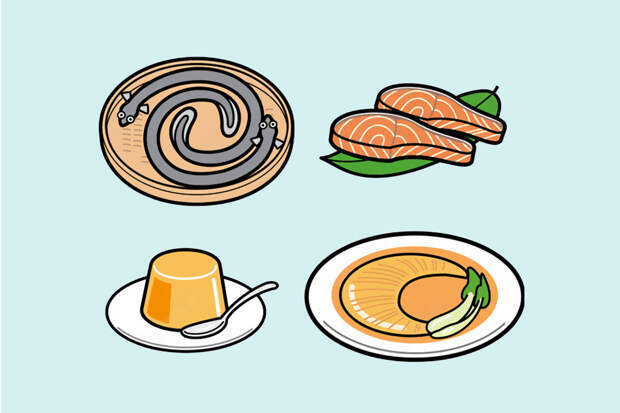 Коллаген —в какой еде содержится?