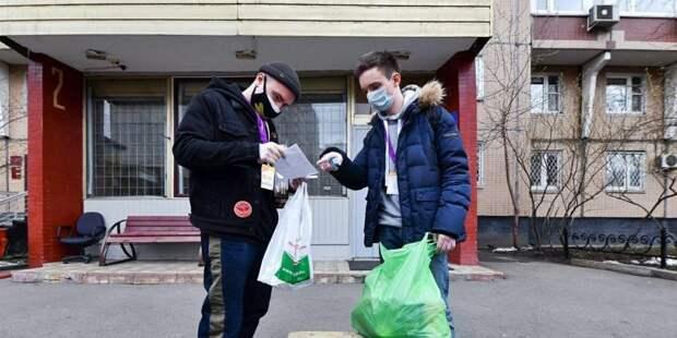 Волонтерами акции «Мы вместе» стали более 12 тыс москвичей/ Фото mos.ru