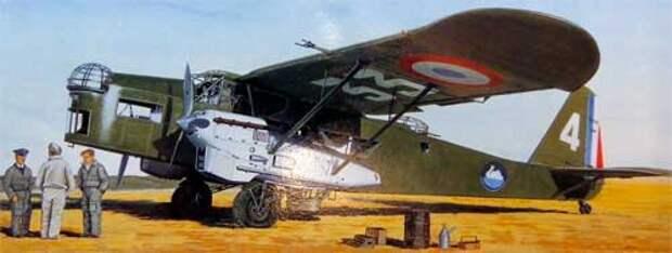 Бомбардировщик Potez P.540