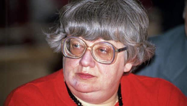 Валерия Новодворская. Архивное фото
