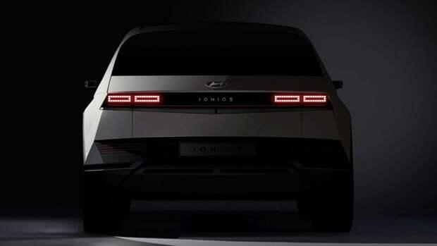 Hyundai продемонстрировала свой первый электромобиль Ioniq 5