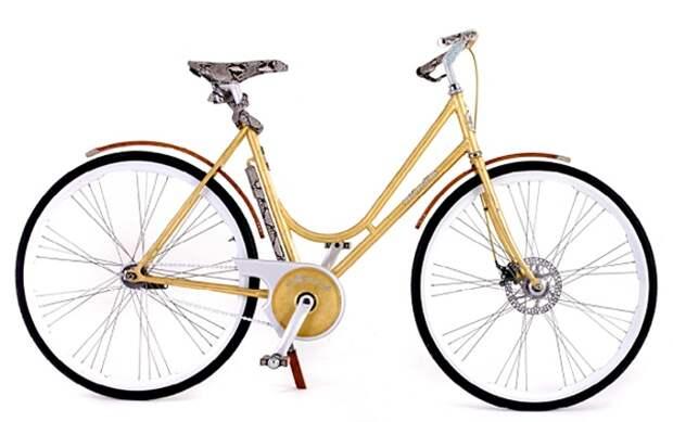 Montante Luxury Gold Collection дорогой женский велосипед фото