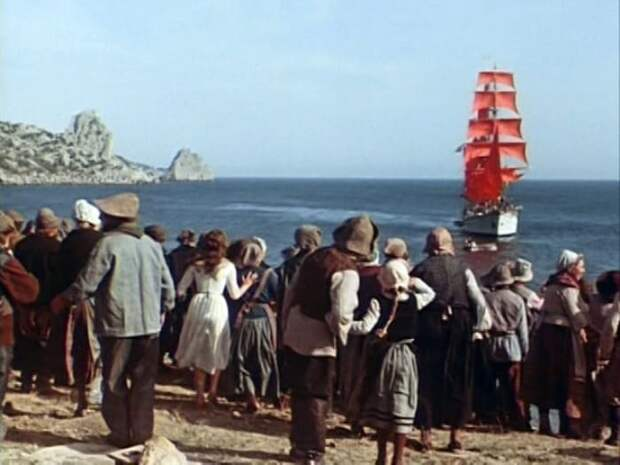 Кадр из фильма *Алые паруса*, 1961 | Фото: crif.in.ua