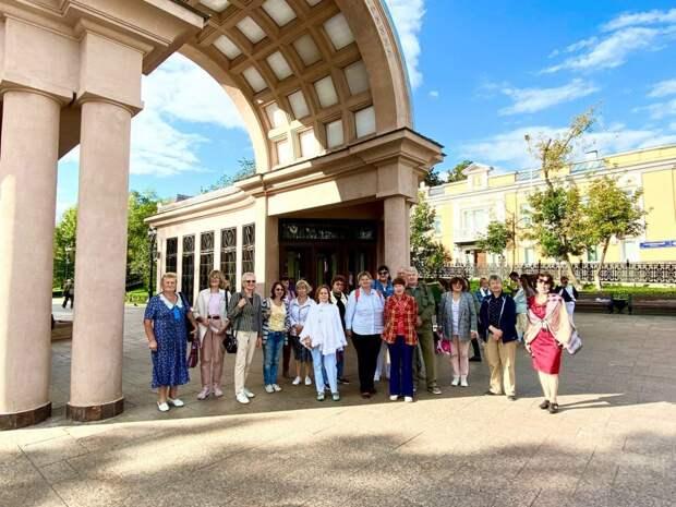 Пенсионерам Южнопортового покажут центр столицы на бесплатных экскурсиях