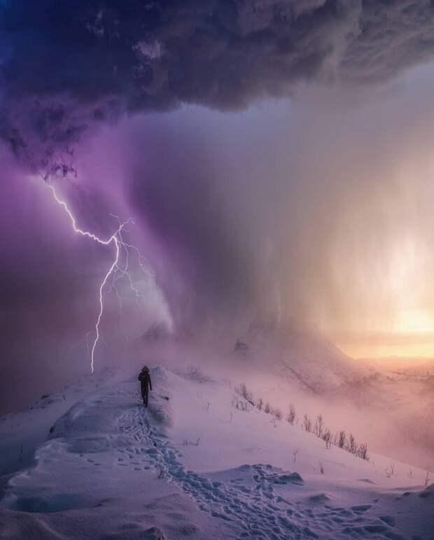 12 невероятных фотографий плохой и хорошей погоды