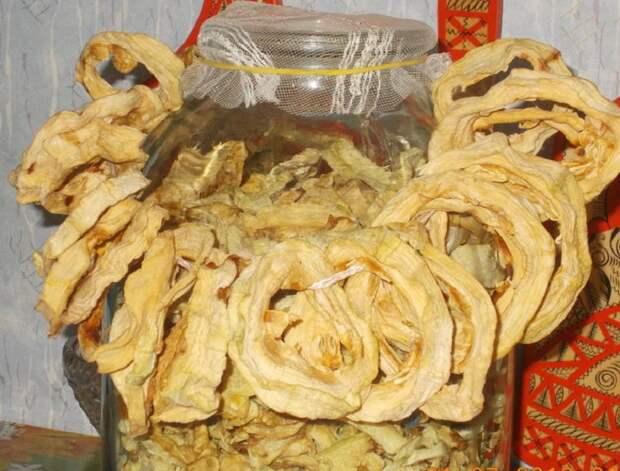 сушеные кабачки рецепт