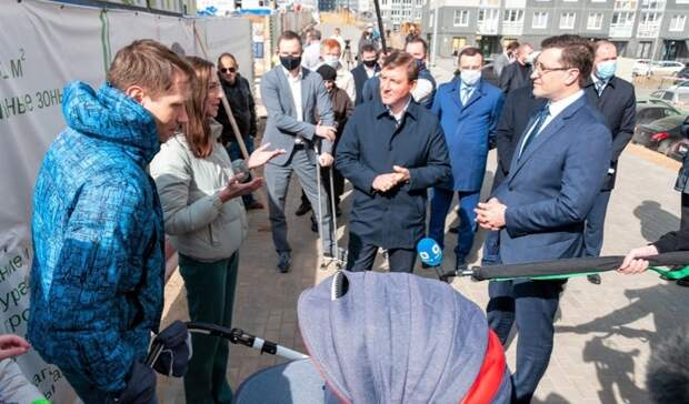 Турчак высоко оценил ЖК «КМ Анкудиновский парк» в Нижнем Новгороде